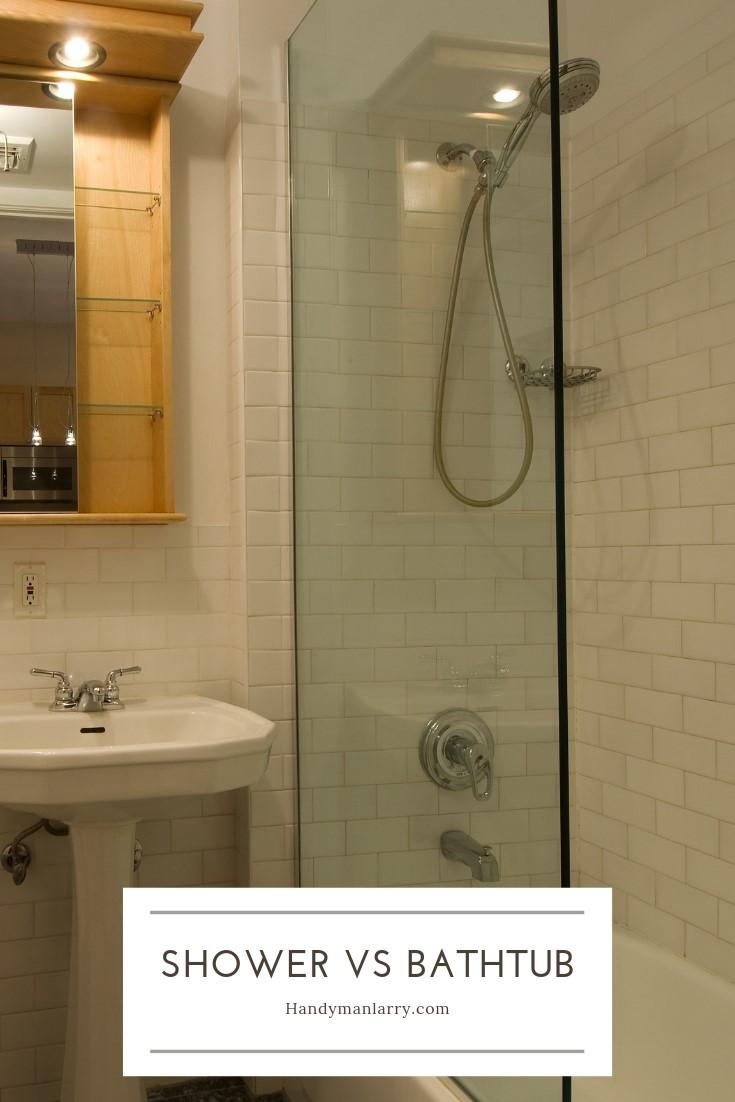 Shower Vs Tub