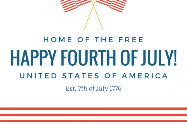 Freedom and Fourth of July
