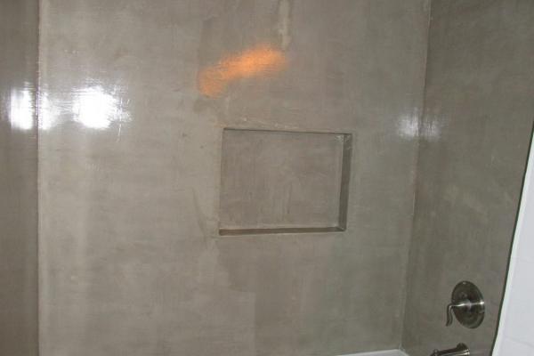 Concrete Bathroom Shower