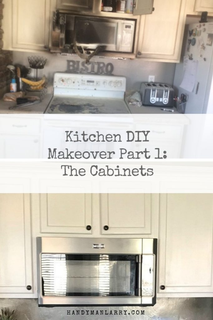 Kitchen DIY Makeover Part 1