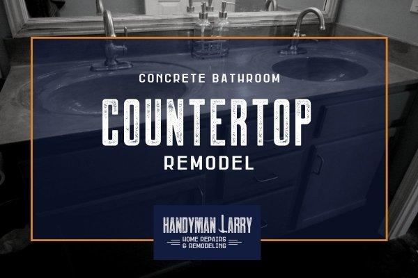 Bathroom Countertop Remodel