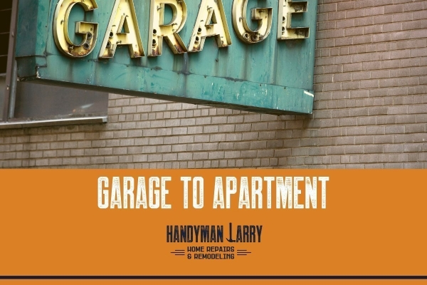 Garage to Apartment