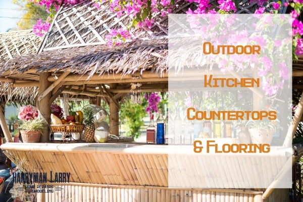Outdoor Kitchen Countertops and Flooring