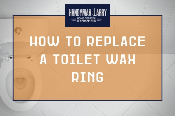 How to replace a toilet wax ring