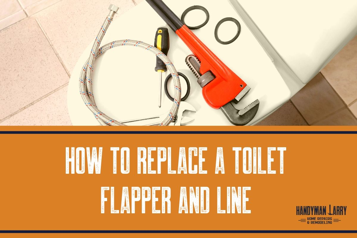 How To Replace A Toilet Flapper & Valve
