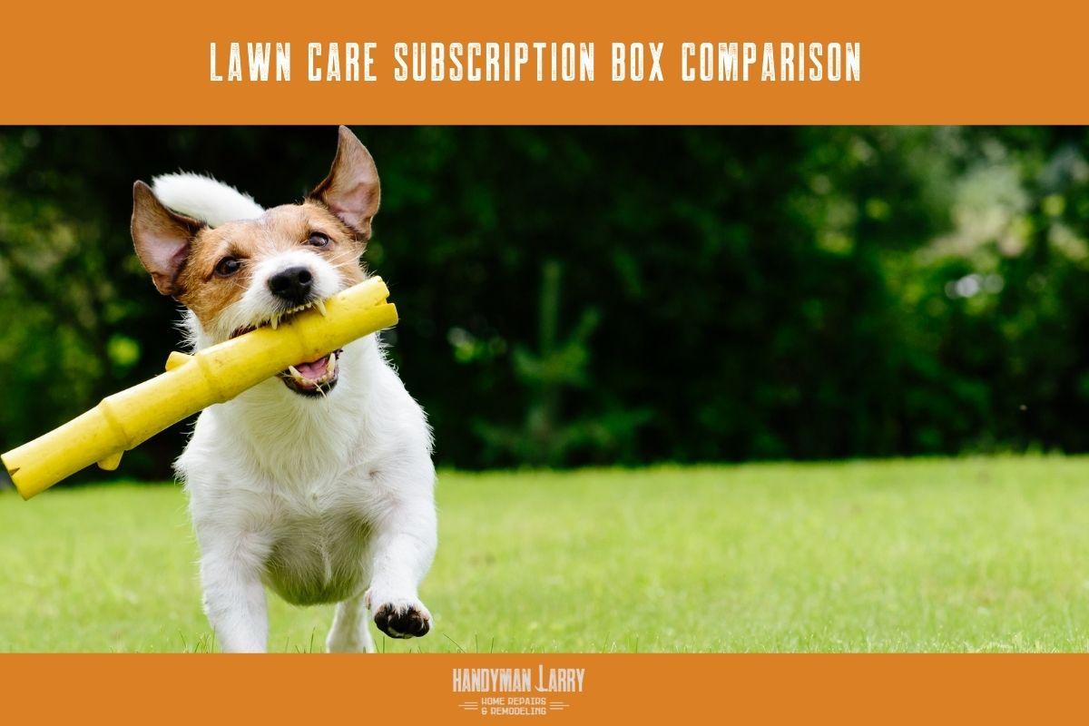 Lawn Care Subscription Box Comparison