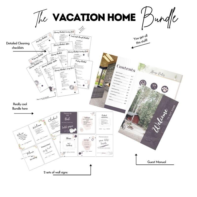 Vacation Rental Templates Bundle