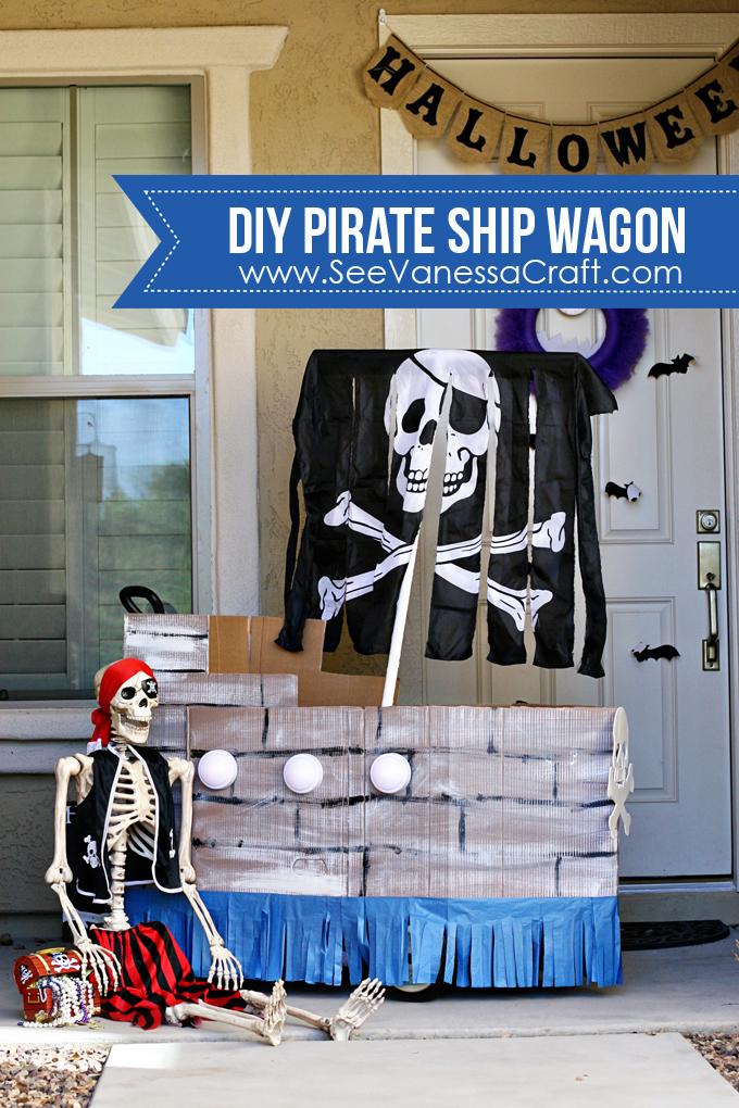 Halloween Decor -Pirate Ship
