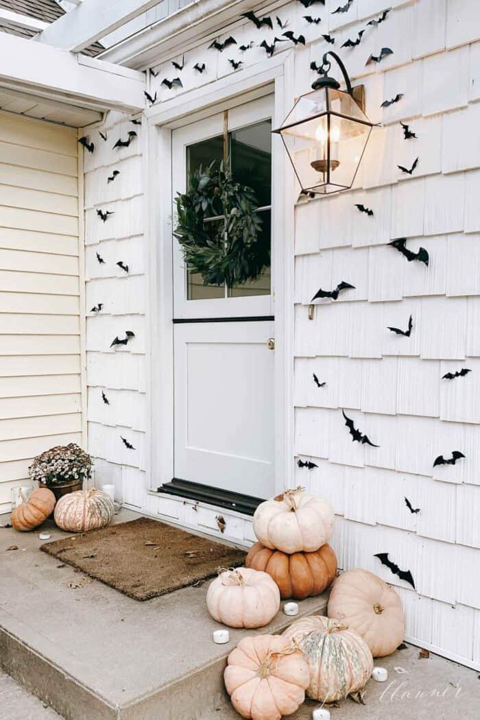 halloween porch decorations bats